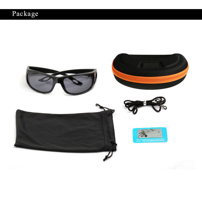 OUTSUN Plus Case Fashion Flexible Sunglasses Men Polarized Lens Brand Designer Polaroid Fish Glasses Oculos Camouflage case