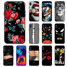 Ojeleye Fashion Silicon Case For Xiaomi Redmi Note 5 Cases Anti-knock Phone Cover Pro Covers Global