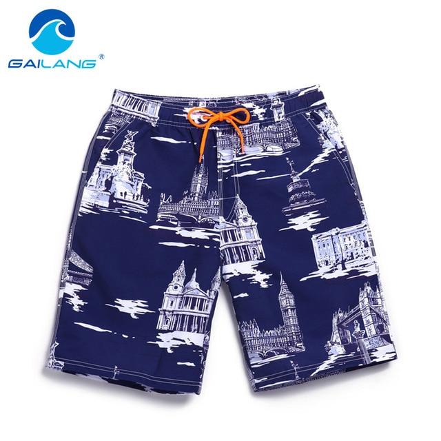 Gailang Brand Men Casual Beach Shorts Man Swimwear Trunks Sea Men's Board Shorts Gay Big Size XXXL Casual Shorts Swimsuits