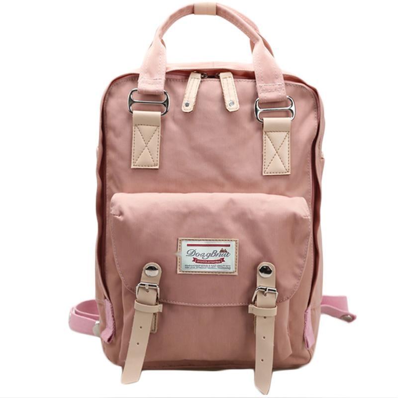 Korean, Zipper, Backpacks, Canvas, For, Backpack