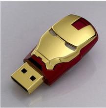 The Avengers 4GB 8GB 16GB 32GB 64GB 128GB Iron Man USB Flash Drive Memory Stick Usb Stick Pen Drive External Storage Pendrive цена и фото