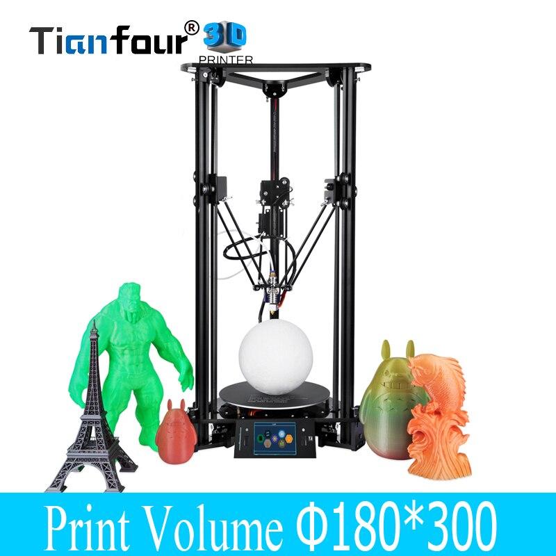 Tianfour T1 plus 3D Printer diameter 180*320mm print volume high precision desktop Auto-Leveling pk anet a6 a8 Reprap Prusa i3 цена 2017
