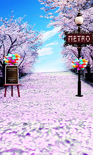 New Arrival Background Fundo Petals Montreal Street Lights 6.5 Feet Length With 5 Feet Width Backgrounds Lk 2911 new arrival background fundo simple painting balloon 7 feet length with 5 feet width backgrounds lk 2679