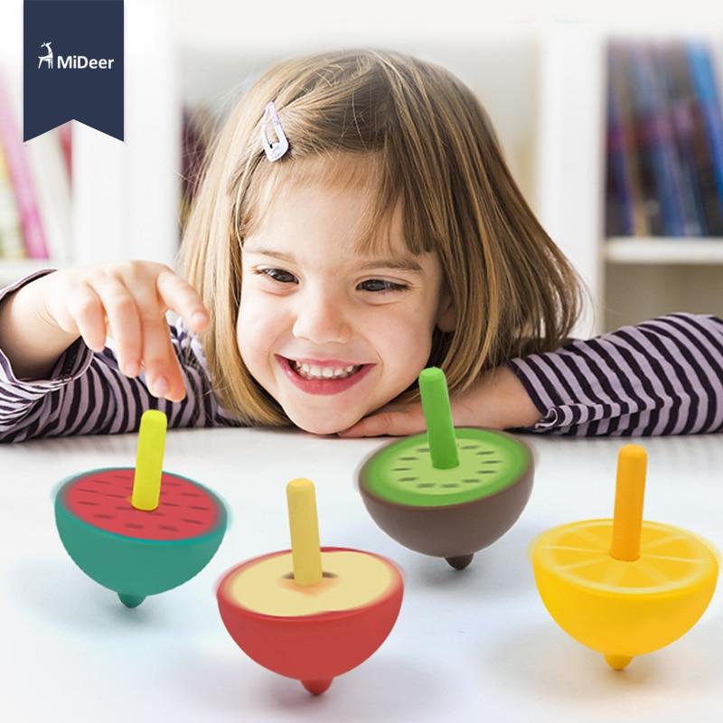 MiDeer Classic Mini Spinning Tops Watermelon Games Kids
