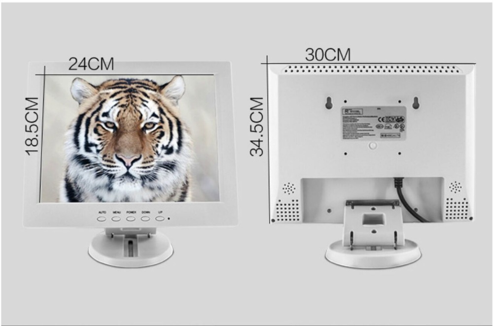 Top Grade Wholesale Pricing Touch Monitor 12 Inch POS Display LCD pricing