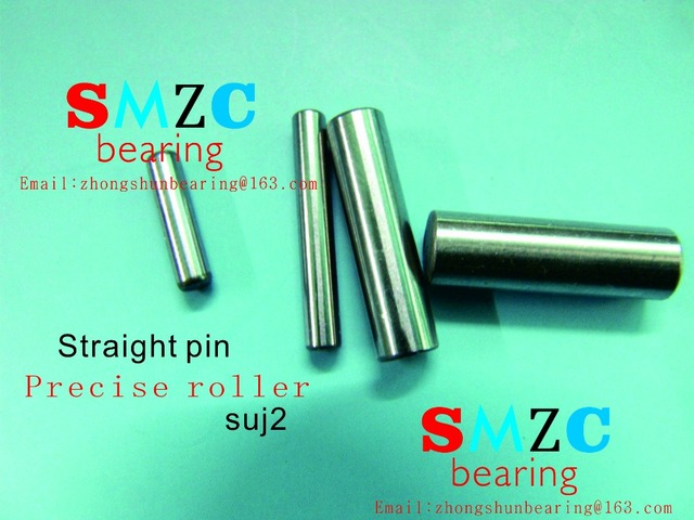 US $2 0 |straight pin Precision cylindrical pin quill roller diameter:3mm  roller length:3mm 4mm,5mm 6mm 7mm 8mm 9mm 10mm 11mm 12mm 13mm -in Shafts