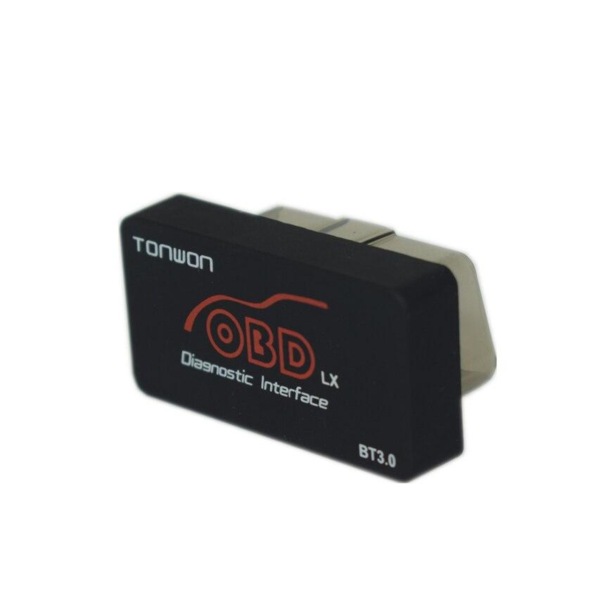 TONWON OBD LX Bluetooth 3,0 Für Android Professionelle OBD2 Scanner Diagnose werkzeug Unterstützung alle OBD2 Protokolle schiff frei