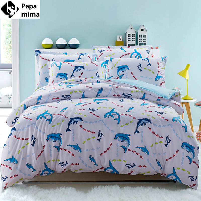 Dolphin Bedding 28 Images Dolphins 100 Cotton Bed