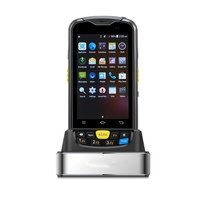 4 Inch Android 6.0 Tandheld 2D Barcode Scanner PDA ,Touch Screen 4G GPRS Smart Pda With QR Code Scanner