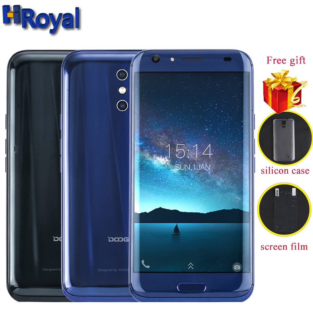 bilder für DOOGEE BL5000 4G LTE handys 5050 mAh Android 7.0 5,5 ''FHD 4 GB RAM 64 GB ROM Octa-core handy 13MP + 13MP Dual Hinten Cam