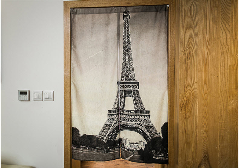 Aliexpress com Buy Eiffel Tower in Paris Sun Shade Cotton Curtain Kitchen  Tearoom Bedroom Living Room. Eiffel Tower Bedroom Curtains   PierPointSprings com