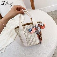 Шарф в форме ракушки ручной вязки соломенная сумка женская сумка через плечо Юго-Восточная Азия летнее пляжный отдых сумка