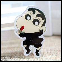 Free shipping 1pcs cool crayon Accessories Fashion cartoon acrylic Brooch Badge Pin Collar brooch Jewelry Gift,Pet cloth,380