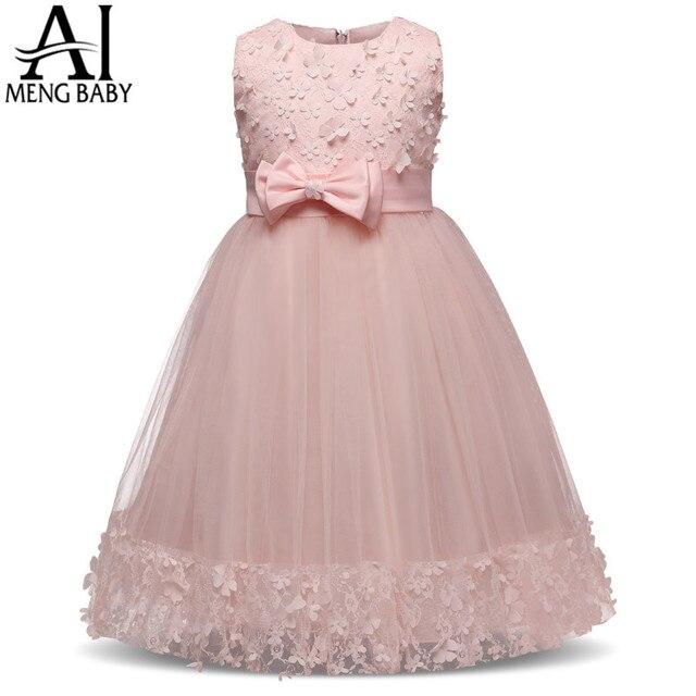 Ai Meng Baby Blumenmädchen Hochzeit Kleid Pageant Kleid Party Kinder ...