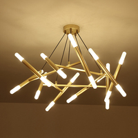 Modern Led Chandelier Large 80cm Width Kitchen Lamp Lustre Lamparas Home Lighting Dining Room Suspension Luminaire