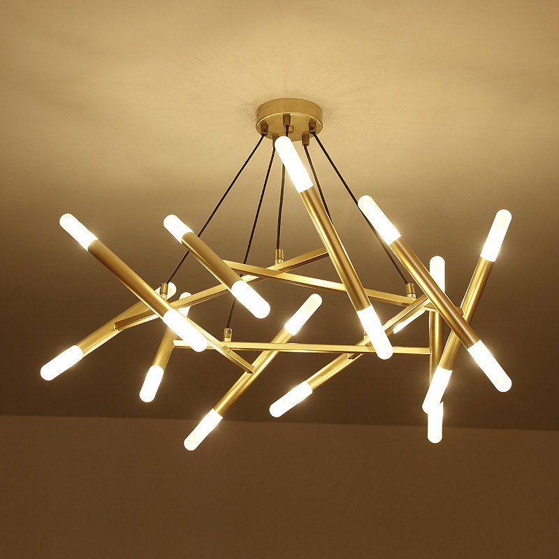 Livewin Moderne Led Lustre Grand 80 cm largeur Cuisine Lampe lustre Lamparas Éclairage À La Maison Salle À Manger Suspension Luminaire