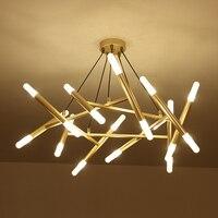 Modern Led Chandelier Large 80cm Width Kitchen Lamp Lustre Lamparas Home Lighting Dining Room Suspension Luminaire