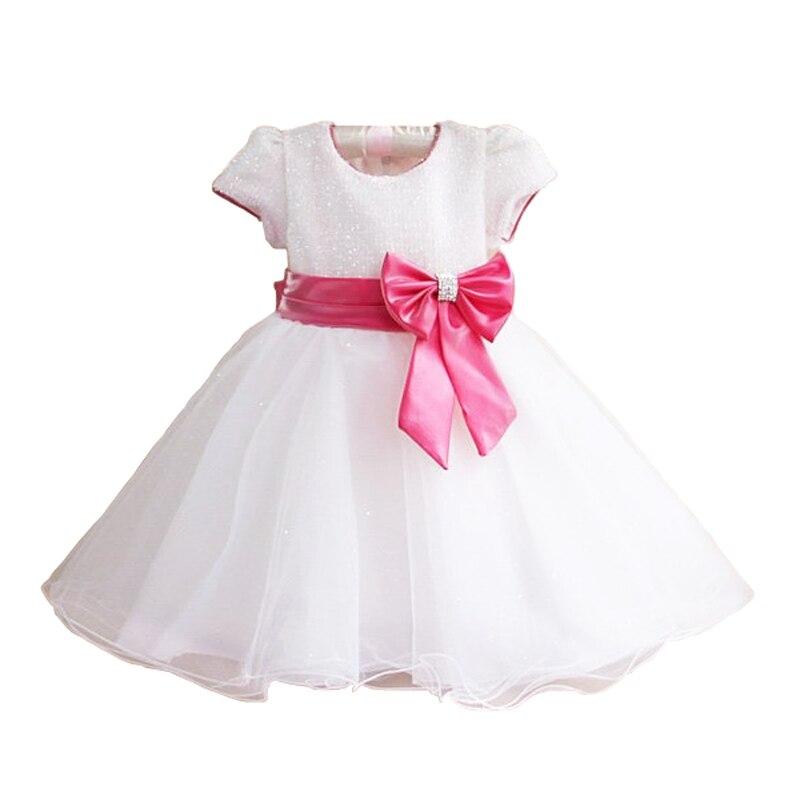 2016 nouvelle marque chaude mode princesse fille robe enfants bébé fille robe enfants vêtements robe filles Cosplay s'applique 3-10 âge - 2