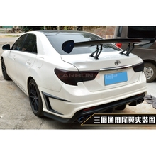 Universal Car-Styling Carbon Fiber Rear Trunk Spoiler GT Wing for Toyota Mark X Reiz universal Sedan Spoiler