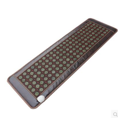 Natural jade6 rows of germanium stone therapy three sofa cushion Electric heating cushion health care physical therapy carpet efficacy of chest physical therapy in pediatric pneumonia