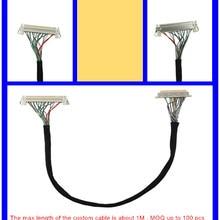 LVDS кабель для ЖК панели для DN2800MT/D2700MT/DH61AG Mini-ITX материнская плата