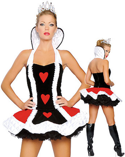 MOONIGHT Produtos Eroticos Sexy Queen Of Hearts Adult Costume For Party New 2017 Cospaly Infantile Girl Costume Incess Costumes