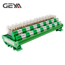 GEYA 2NG2R DPDT Relay 14 Channel Relay Module 2NO 2NC Omron Relay PLC 12V 24V AC DC цены