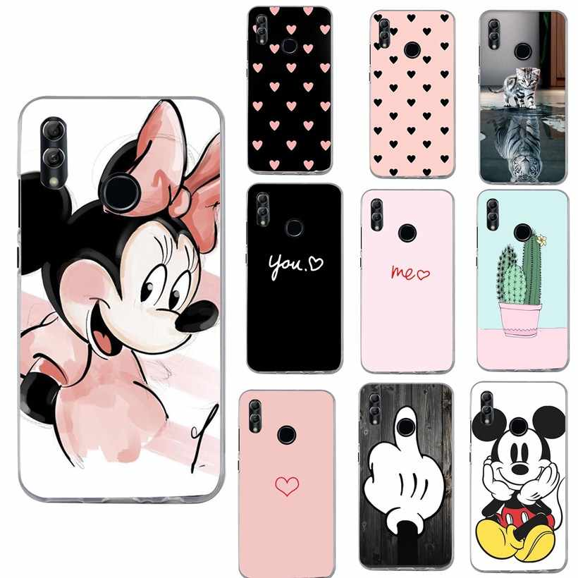 Capas Funda For Huawei P20 Lite Case Silicon Case For Huawei Honor 9 Lite Y5 Y6 Prime 2018 P Smart Mate 10 Lite P20 Pro Cover