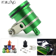 цена на universal motorcycle CNC Fluid Oil Reservoir Front Brake Clutch Tank Oil Cup FOR ducati kawasaki yamaha suzuki honda bmw ktm