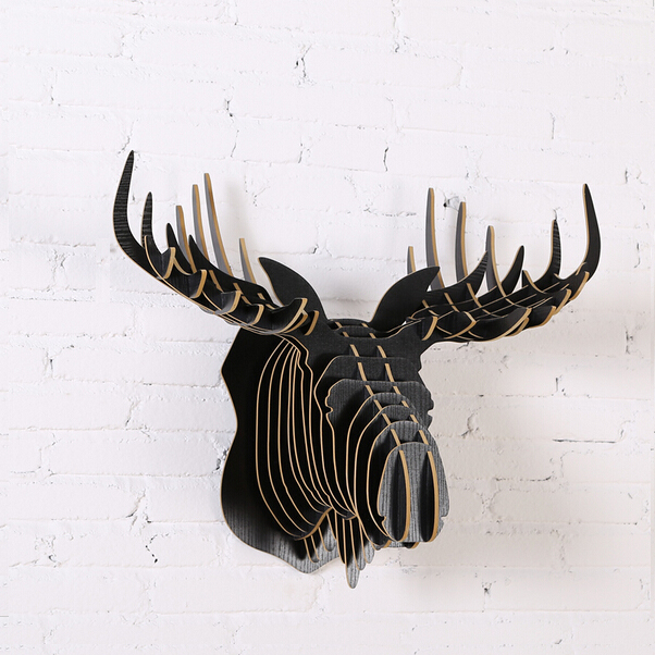 Popular Moose Head DecorationBuy Cheap Moose Head Decoration Lots - Moose wall decor