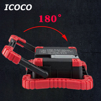 ICOCO Portable Ultra Bright COB Camping Light Stacked Hands Outdoor Power bank Bright Tent Lights Emergency Repair Light Sale
