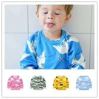 2016 Autumn Winter Kids New Sweaters Baby Girl Clothes Vestidos Vetement Kikikids Christmas Baby BOY CLOTHES