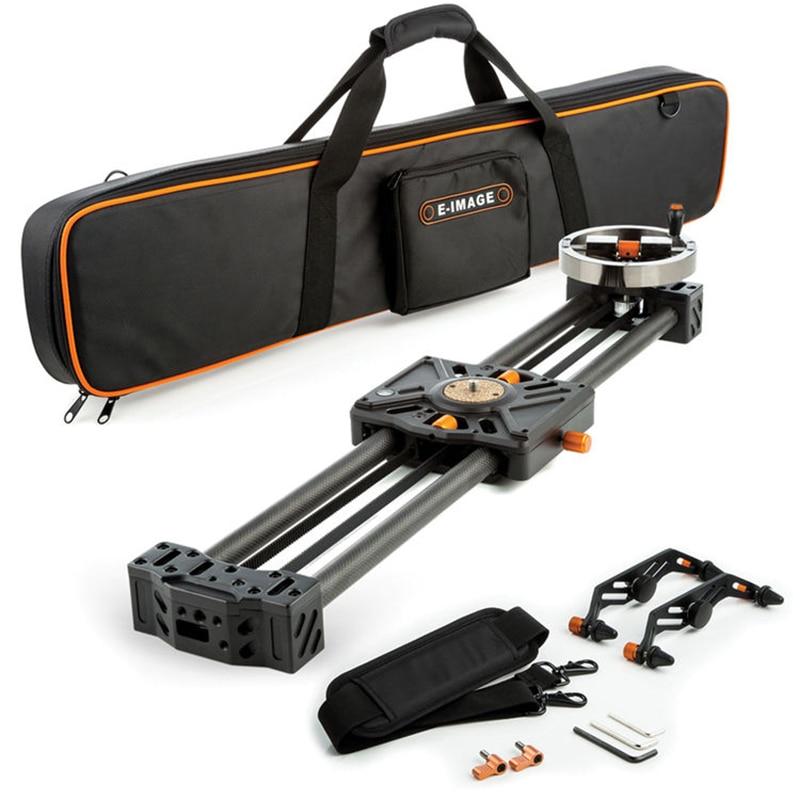 E-Image video carbon fiber Slider camera slider dolly track dslr slider for DSLR Camcorders professional