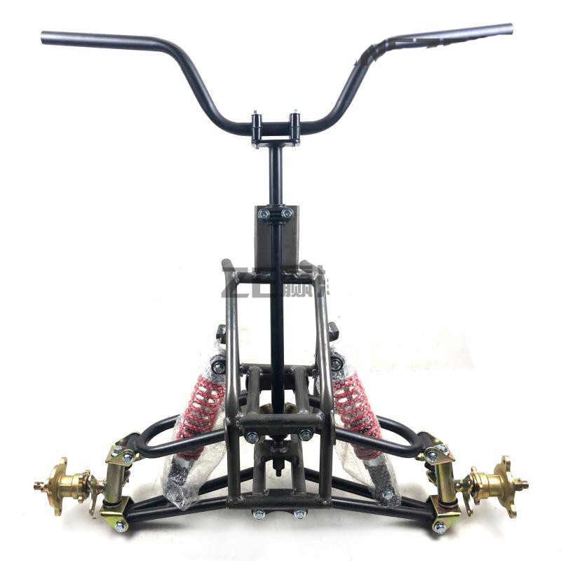 Buggy ATV GO KART KARTING UTV Handlebar Front Steering Wheel Suspension Structure Support Swingarms With Shock Absorbers