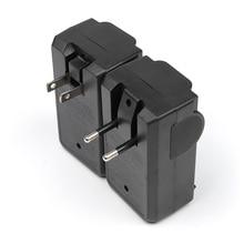 Inteligente 18650 Carregador de Bateria Dual Slot de Carga Dupla Anti-back