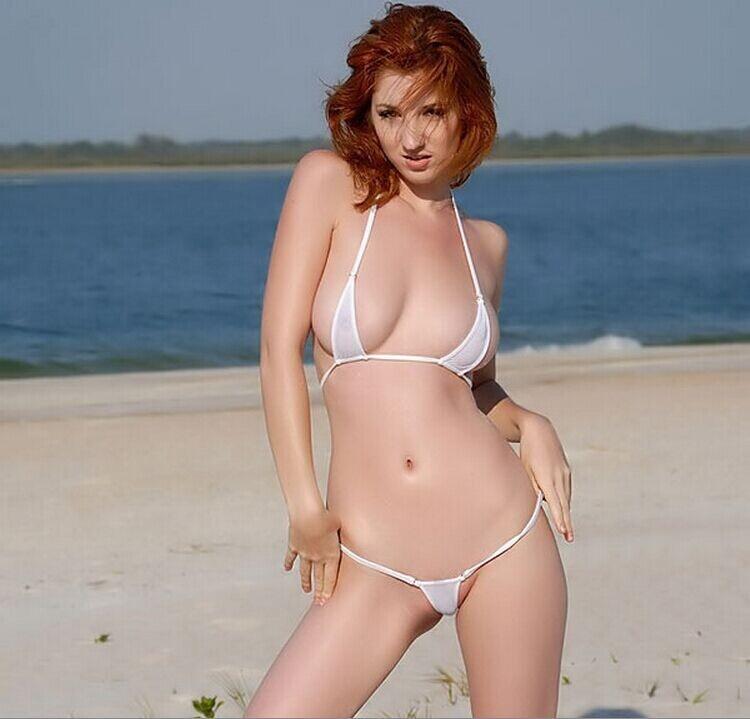 Micro Bikini Extreme Strappy Bikinis Bathing Suits Three Points To Lure Bikini Beach Suits Multi-colored Stretch Bikini Swimwear