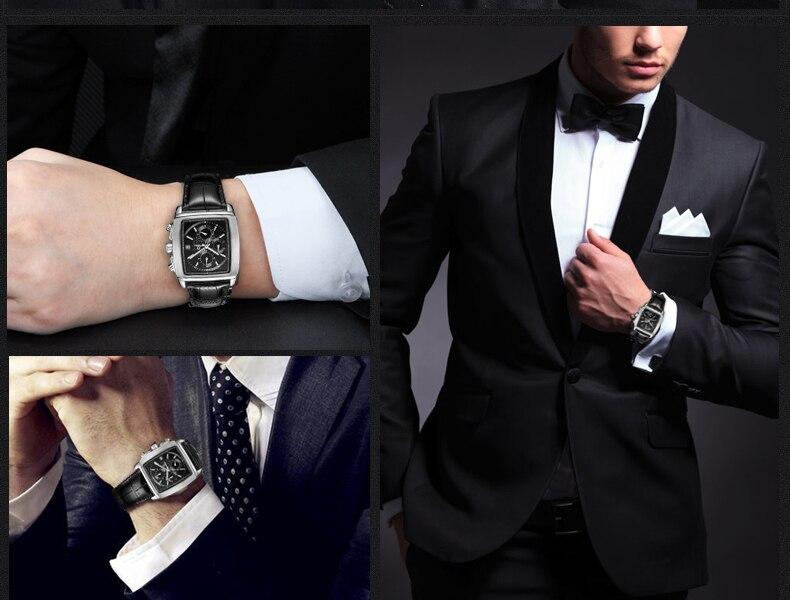 Casima 2017 relógio de quartzo masculino relógios