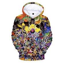 dragon ball Men Hoodies 3D Printed Funny Hip hop Novelty Streetwear Hooded 2019 Autumn Jackets Mlae Dropshopping