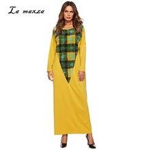 cdc1542b65 Abaya suknie muzułmańska sukienka maxi turcja islamska pakistanu Kaftan  dubaj muzułmańska sukienka wieczorowa bawełna na co