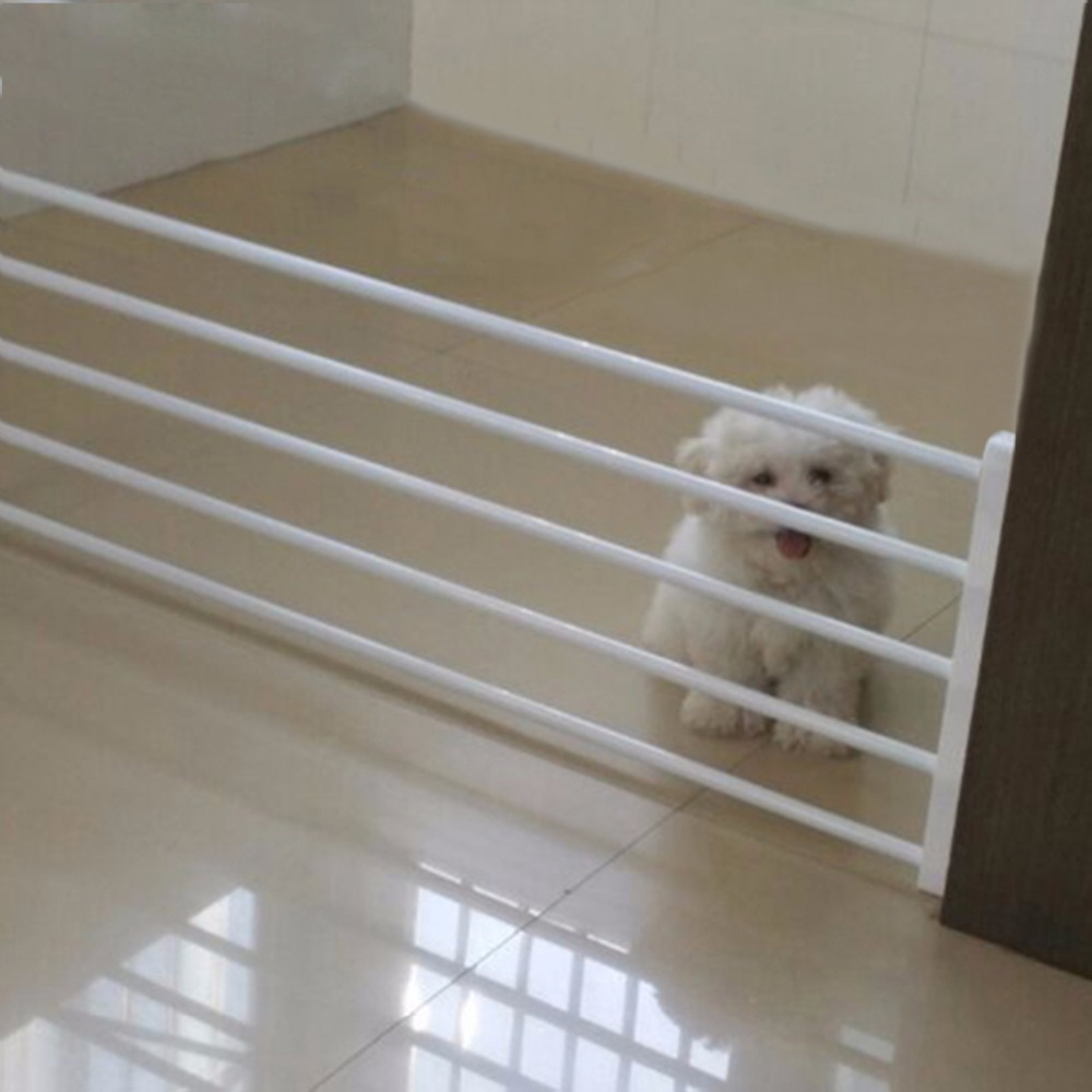 Dog Fence Playpen for Dog Baby Fence Baby Safety Gate Pets Indoor Retractable Pet Isolating Gate Room Baby Stair Fence Door