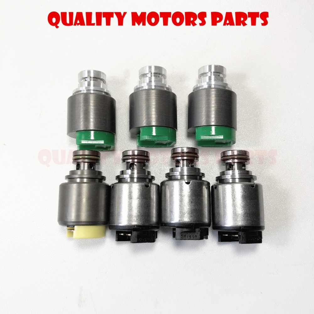 5HP19 transmission solenoid set 7pc for Audi a4 a6 VW Passat BMW 330i 325i  Jaguar S Type ZF5HP19 Solenoids -in Automatic Transmission & Parts from ...