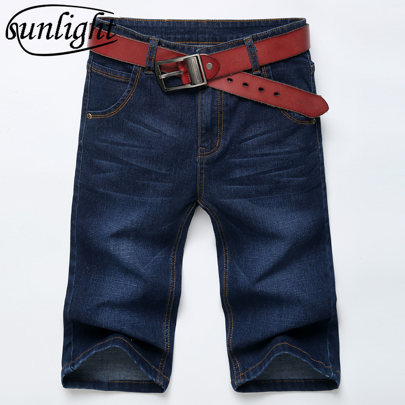 2018 summer edition cultivate morality men's 5 minutes stretch denim shorts new jeans pants the 5 points