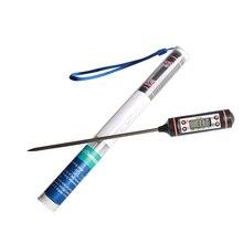 Термометр для мяса, цифровой термометр для барбекю, электронный термометр для приготовления пищи, зонд, вода, молоко, кухонная духовка, термометр, инструменты