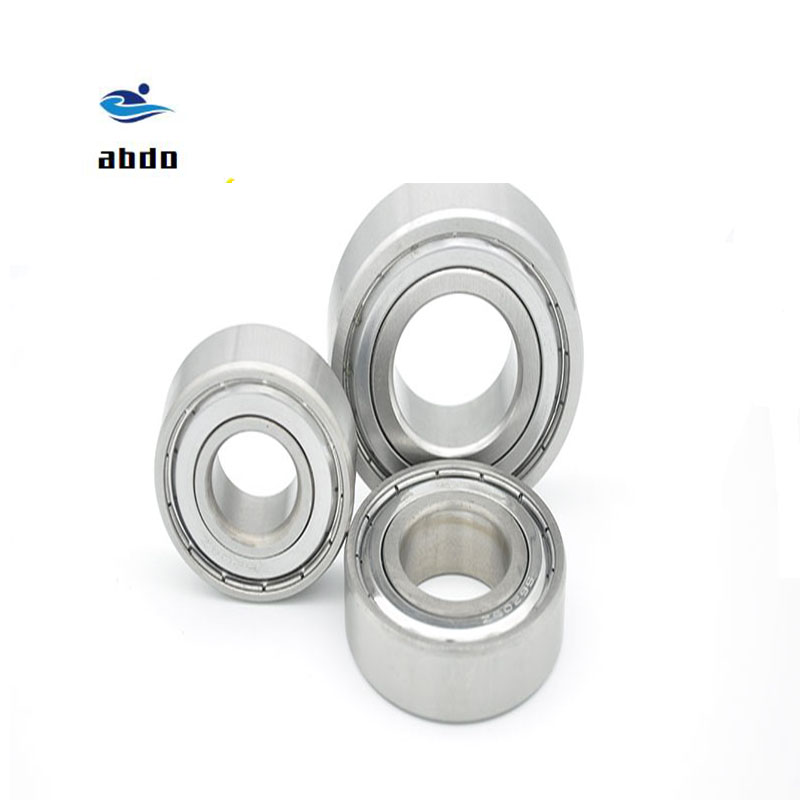 10Pcs High quality ABEC-5 <font><b>MR128ZZ</b></font> MR128Z MR128 ZZ L-1280ZZ 8*12*3.5mm 8x12x3.5mm Metal seal deep groove ball bearing image