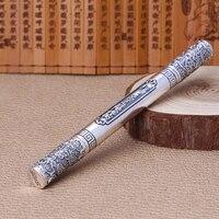 Edc 925 prata auto defesa sobrevivência segurança tático caneta lápis com escrita multi funcional edc|Ferram. atividade ar livre| |  -