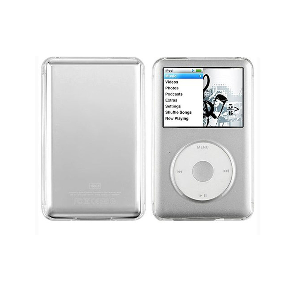 Transparent Hard Clear Crystal Protective Shell Case Cover Skin For iPod Classic MP3 Accessories image