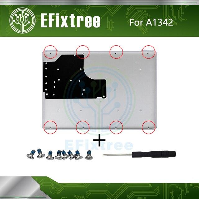 Coque de batterie pour Macbook 13.3 pouces | A1342, boîtier de batterie inférieur, boîtier de tournevis pour Macbook A1342 604-1033 2009 2010 an EMC 2350 EMC 2395
