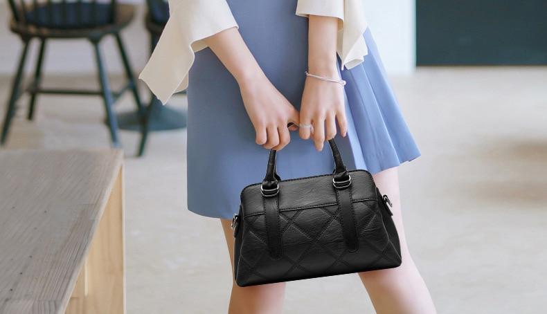 Women Bag 2019 New Women Messenger Bags Fashion Pu Leather Shoulder Bags Handbags Famous Brands, Big Crossbody Bags For Women 13