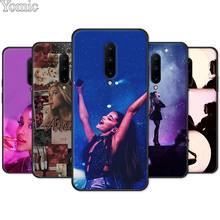 Soft Cover Shell for Oneplus 7 7 Pro 6 6T 5T Silicone Phone Case for Oneplus 7 7Pro Black Case Ariana Grande