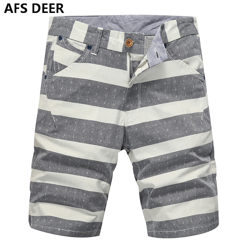 High Quality Mens Shorts Board Shorts Summer causal Beach Bermuda Short Pants stripped male shorts Boardshorts Big Size